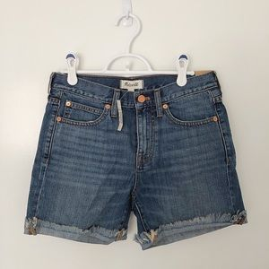NWT Madewell Denim Boyshorts